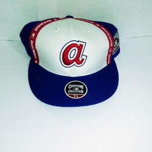 Other - Atlanta Braves Mlb BASEBALL CAP COOPERSTOWN FITTED
